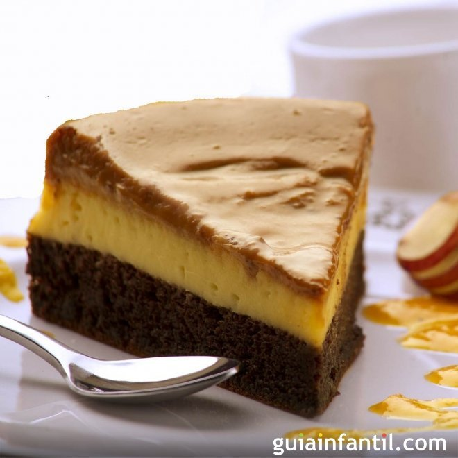 Chocoflan o tarta imposible