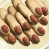 Dedos dulces ensangrentados de Halloween