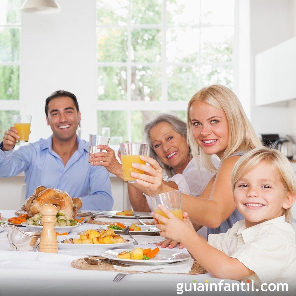 Menú de Acción de Gracias para toda la familia
