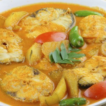 Merluza al curry