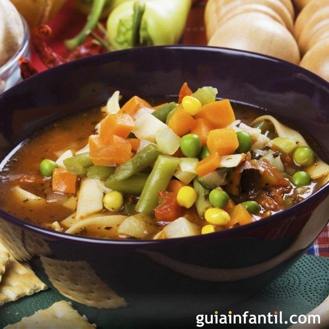 Menestra de verduras, una comida equilibrada