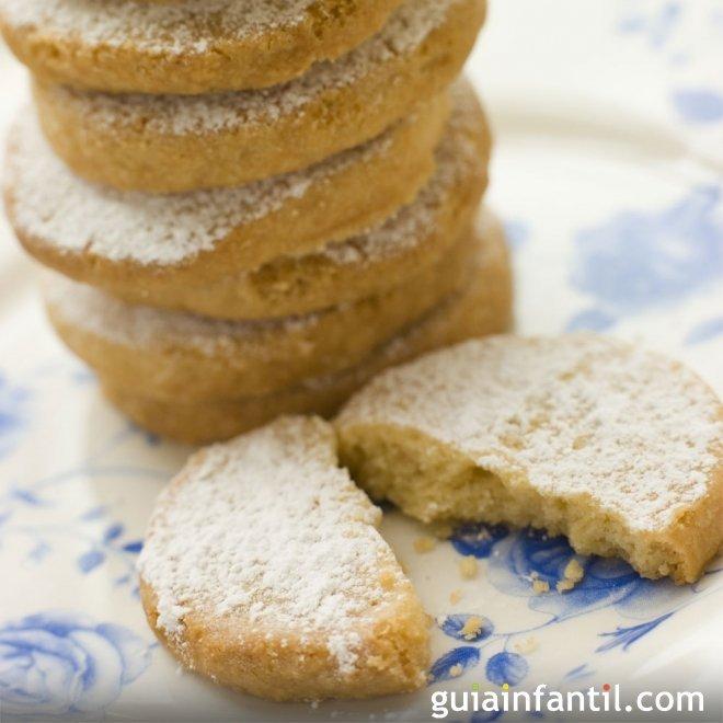Polvorones caseros para Navidad. Recetas dulces tradicionales