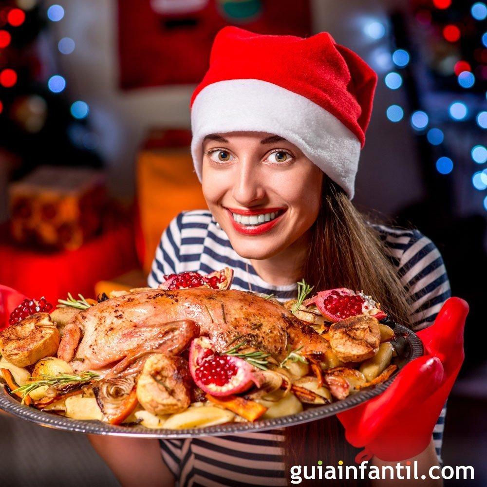 Recetas para el menú de Nochevieja