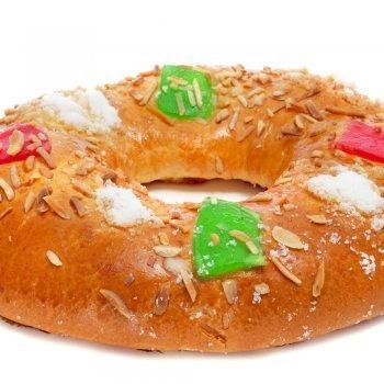 Receta de rosca o roscón de Reyes magos