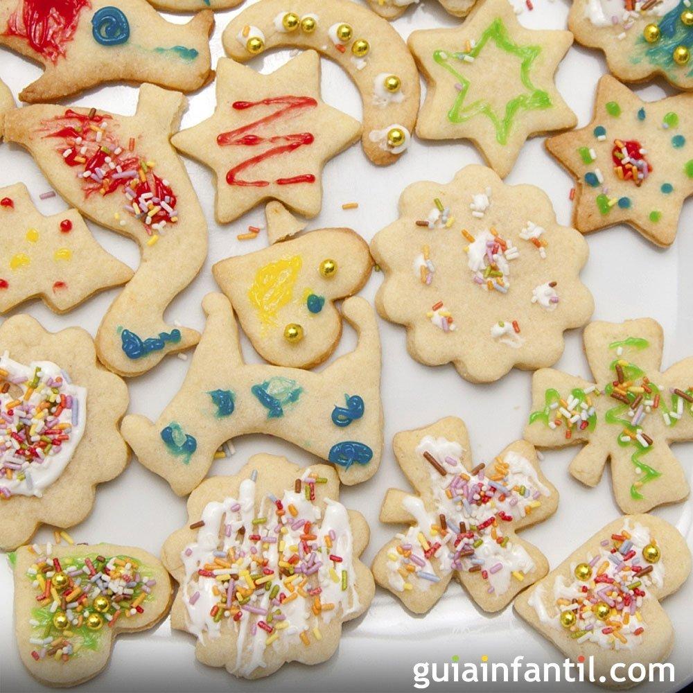 Galletas navideñas de mantequilla, paso a paso