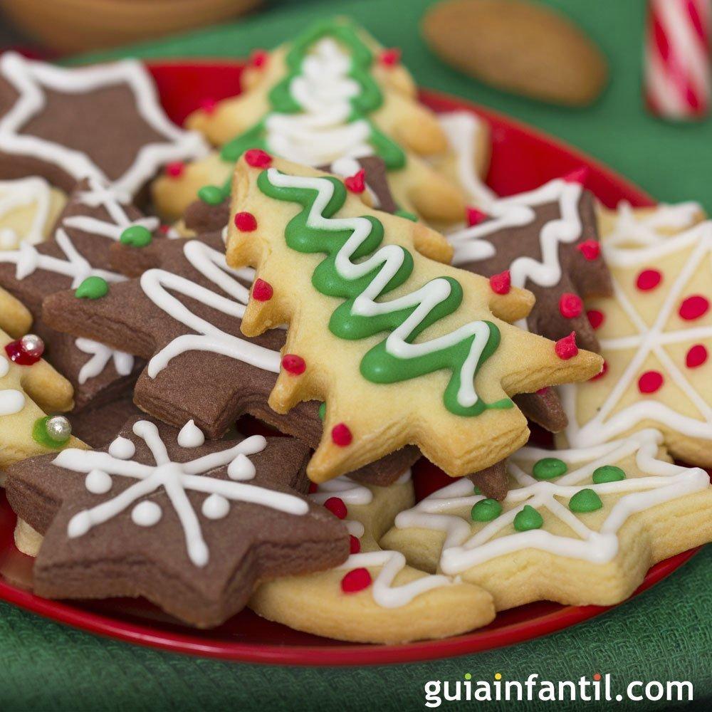 Recetas de galletas para la navidad for Postres para navidad originales