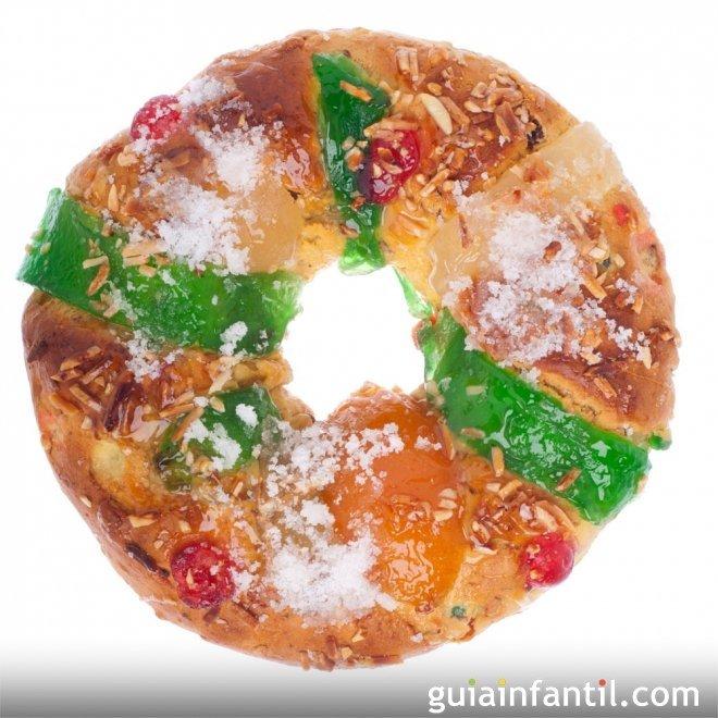 Roscón de Reyes sin lactosa