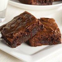 Brownie rápido al microondas. Receta para niños