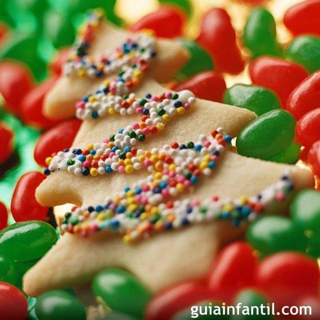 Galletas decoradas para el rbol de navidad for Cuando se pone el arbol de navidad