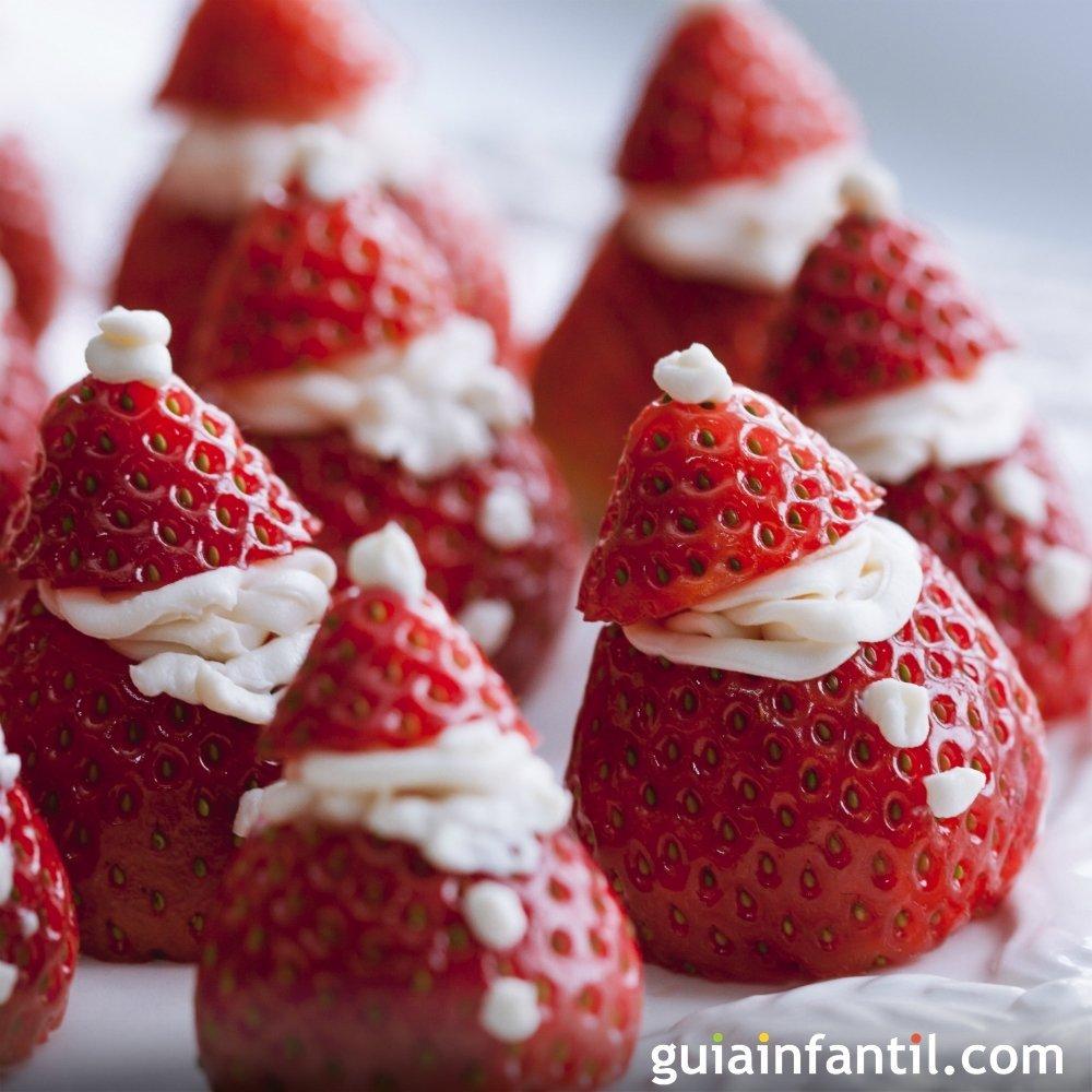 Recetas de postres con frutas para navidad for Cocina navidad con ninos