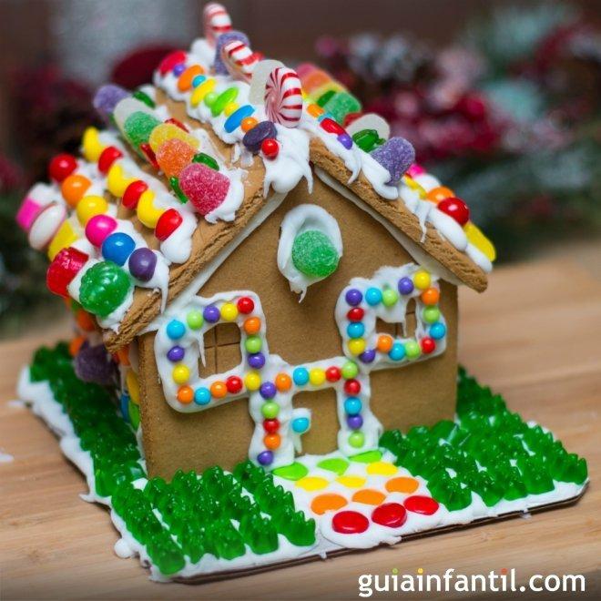 casita de jengibre para navidad receta para niños