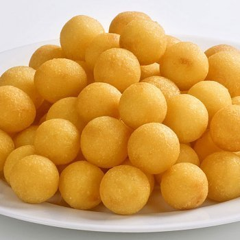 Bolitas de patatas con queso
