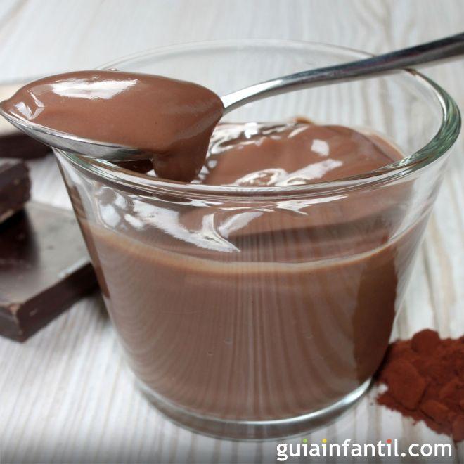 Natillas de chocolate fáciles y rápidas