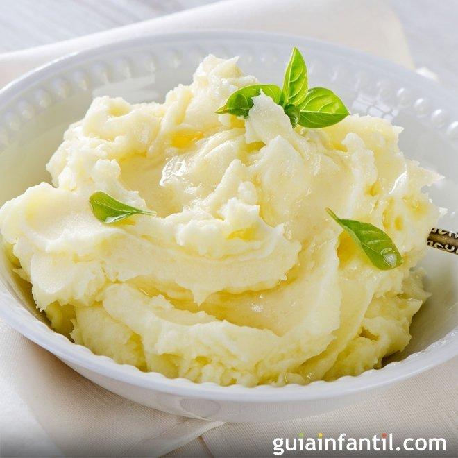 Puré de patatas, receta tradicional