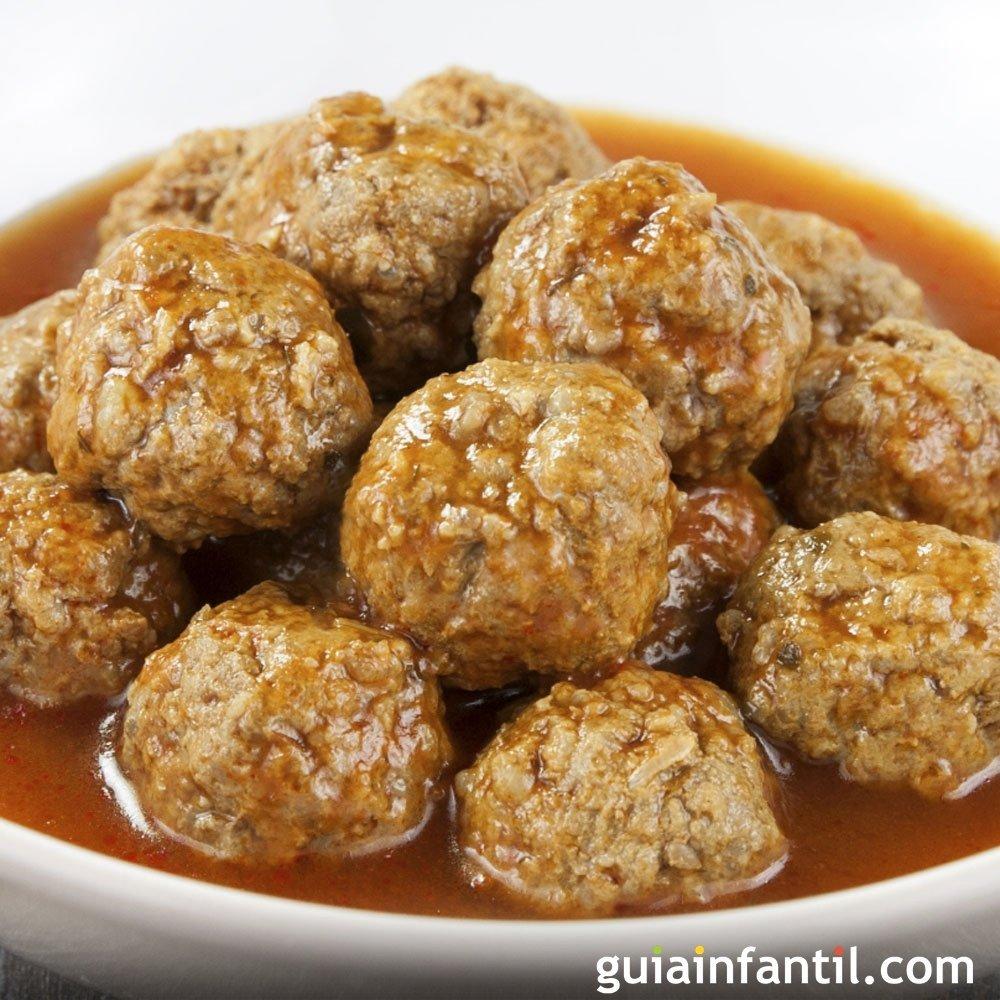 Alb ndigas en salsa tradicionales sin gluten - Albondigas tradicionales ...