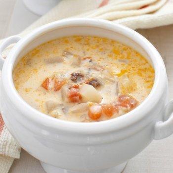 Sopa de pescado suave