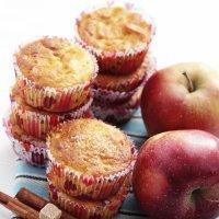 Magdalenas de manzanas y canela. Un manjar para los niños