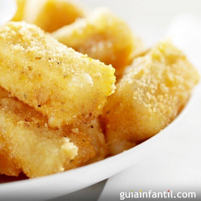 Tofu empanado, receta vegana para niños