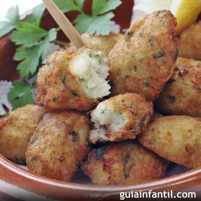 Croquetas de pescado, cena rápida y sana para niños