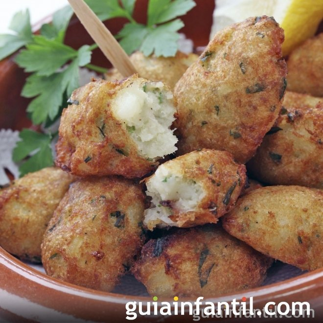 Croquetas de pescado cena r pida y sana para ni os for Comidas rapidas para ninos
