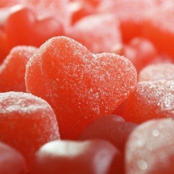 Gominolas caseras de corazón
