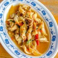 Calamares en salsa americana, receta de la abuela