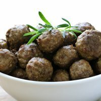 Albóndigas aromáticas sin gluten para niños celiacos