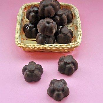 Bombones de chocolate rellenos