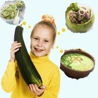 Recetas de calabacín para niños con muchas vitaminas