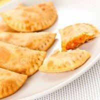 Empanadillas de atún y maíz al horno