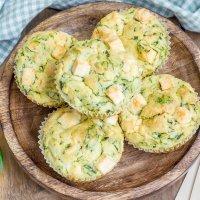 Muffins cuatro quesos para la merienda de los niños