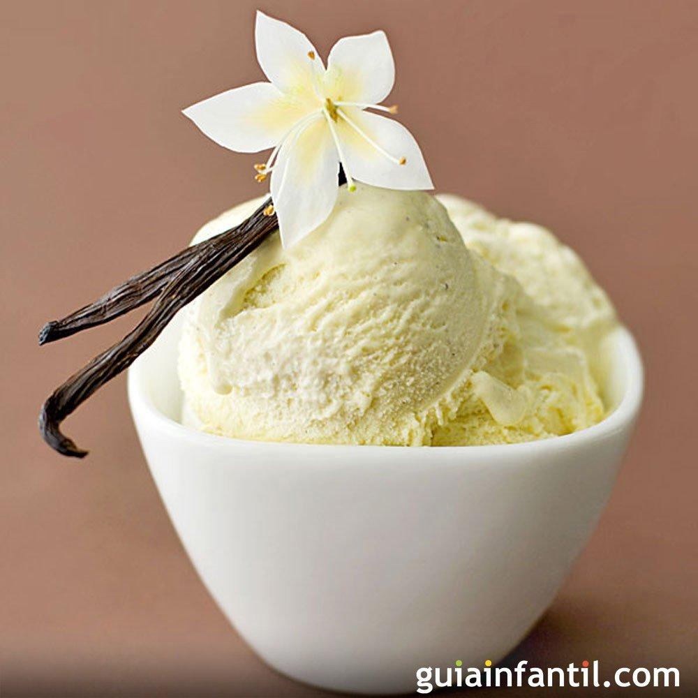 Helado de vainilla tradicional receta casera - Calorias de un cono de helado ...