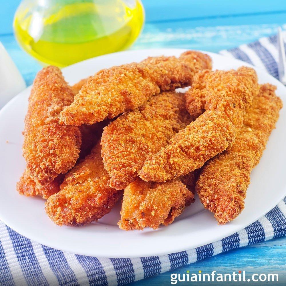 Nuggets de pollo al horno y sin gluten receta f cil for Cocinar yuca al horno