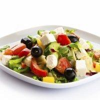 Ensalada griega, receta original para niños