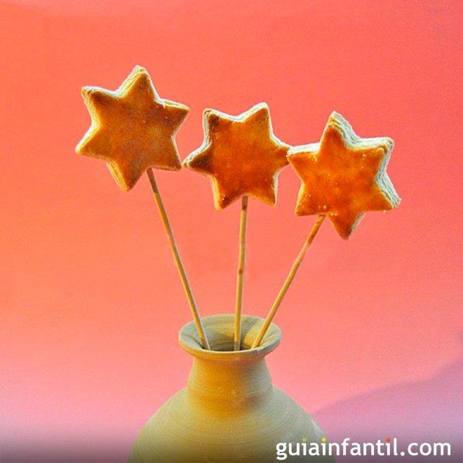 Galletas de varita mágica, receta paso a paso