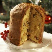 Panettone de Navidad sin gluten. Pan de Pascua para los niños