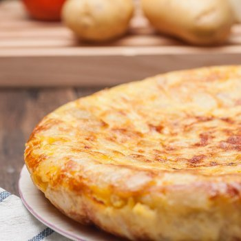 Tapa de tortilla de patata