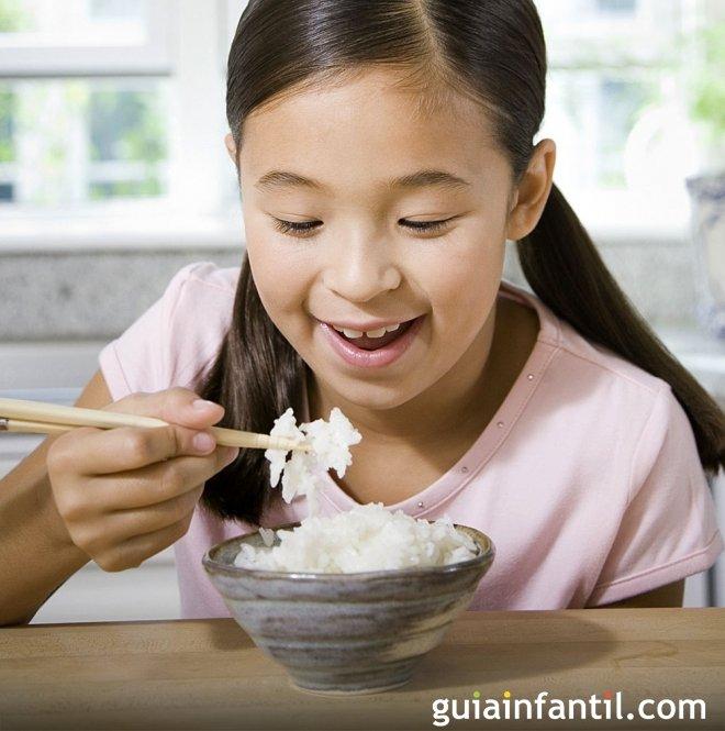 Recetas de arroz para ninos