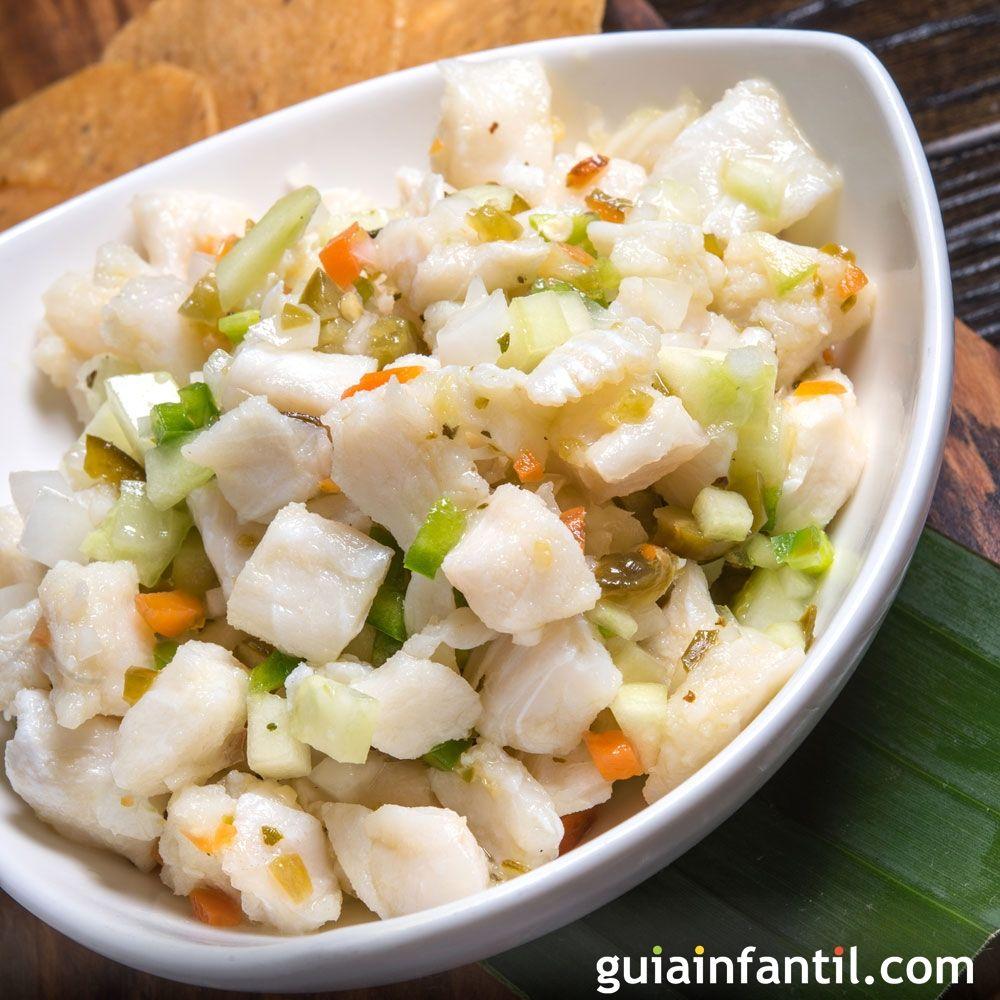 Ceviche de pescado para ni os recetas peruanas for Cocinar pescado para ninos