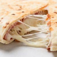Quesadillas de jamón y queso para niños