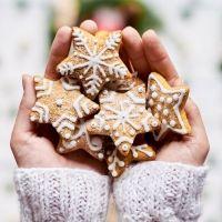 Galletas de Navidad decoradas. Receta para niños