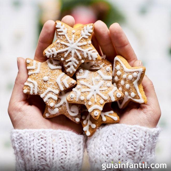 Galletas De Navidad Decoradas Receta Para Niños