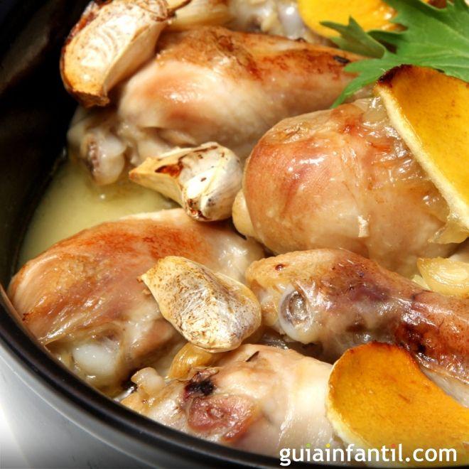 Pollo al ajillo receta de la abuela - La cocina dela abuela ...