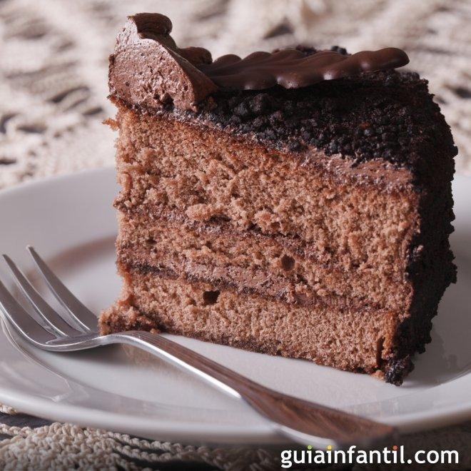 Receta de crema de trufa para rellenar tartas y pasteles