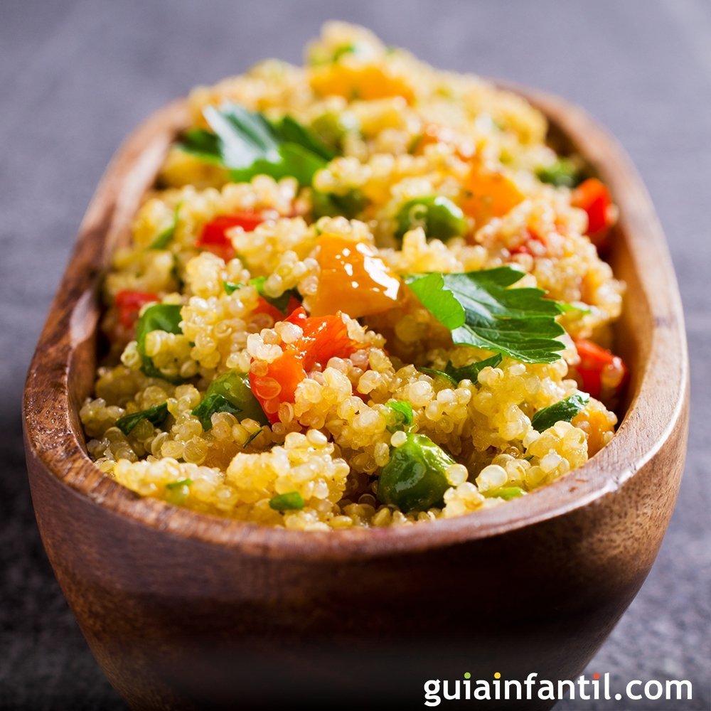 Qu noa con verduras recetas f ciles y nutritivas for Como cocinar quinoa
