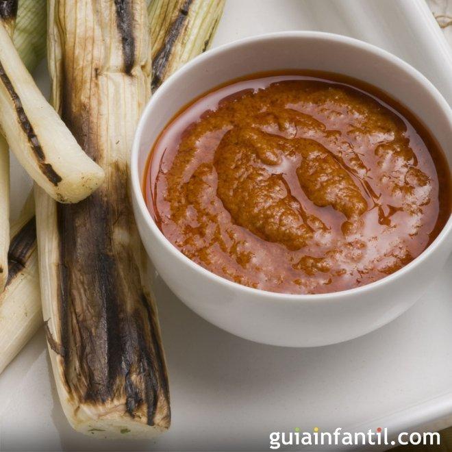 Cómo hacer salsa Romesco. Recetas de salsas caseras
