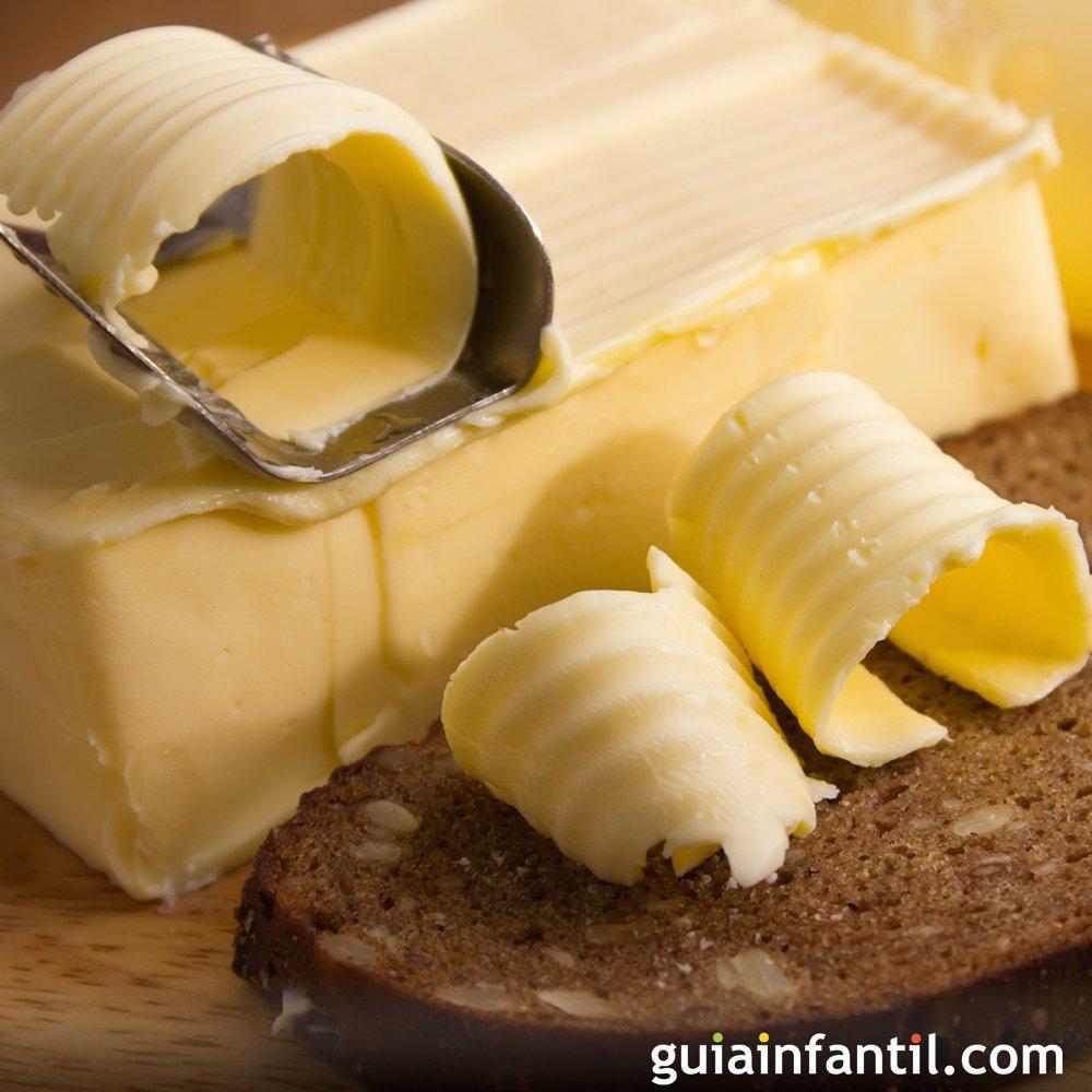Receta f cil para preparar mantequilla casera - Como hacer nata para cocinar ...