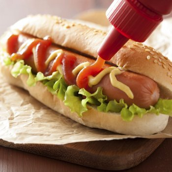 Receta de hot dog. Perrito caliente