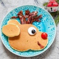 Recetas de crepes y tortitas de Navidad