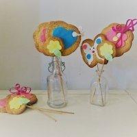 Receta de galletas con forma de flor para regalar